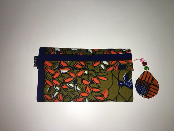 Blue wallet 1