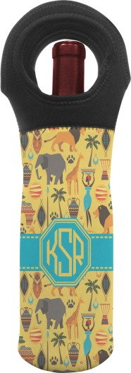African Wine Tote