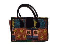 Black patchwork bag 3