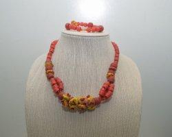 Krobo beads jewelry 1