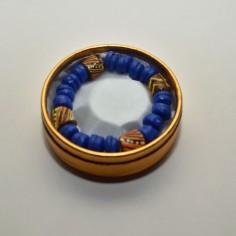Blue bead 2