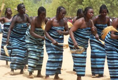 Burkina Faso traditional clothing
